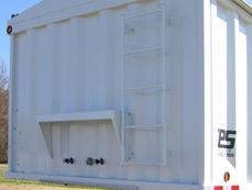 CPS Grain Hoppers in Helena Arkansas